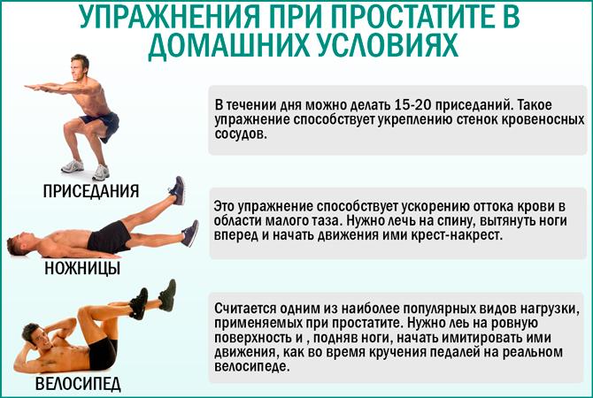 Гимнастика при простатите комплекс упражнений простатит и его лечение скачать